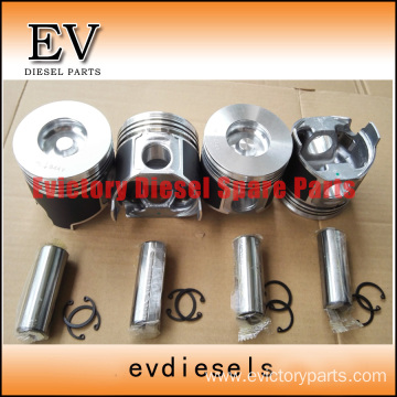 excavator 4D98E engine gasket bearing piston ring liner