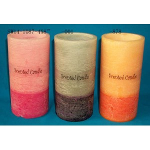 Super Purchasing for Multi-Color Craft Candles Candle scented candle in home dining room export to Germany Wholesale