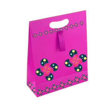 Foldable Promotional Gift Paper Shopping Bag