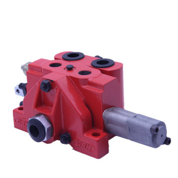 Cherry picker hydraulic sectional valve