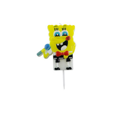 Hot sale spongebob squarepants birthday cake candles