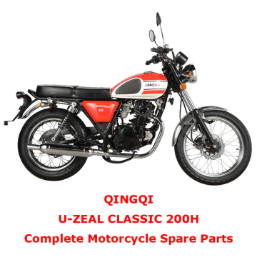 QINGQI CLASSIC 200H Complete Motorcycle Spare Parts
