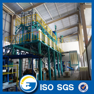 50 TPD automatic wheat flour mill machinery