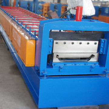 470mm width joint hidden steel used roll forming machine india