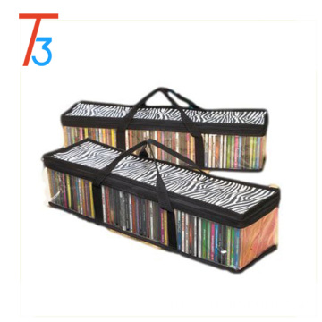 With Room For 40 DVDs Each DVD Storage bag Organizer