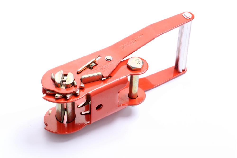 "2""Long Handle,Double Security Lock Ratchet Buckle"