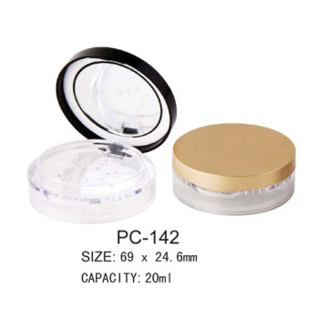 Round Empty Loose Powder Case