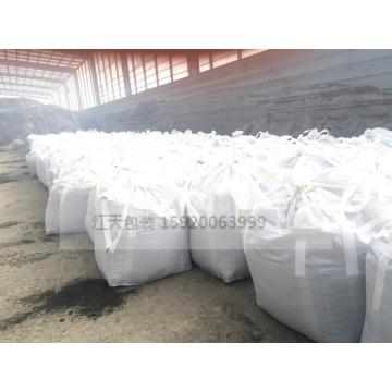 White one ton bag of sludge