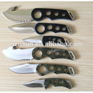 G10 Handle Tactical Hunting Knife Camping Knife