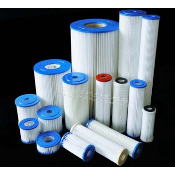Pleated Polyester Water Filter Cartridges