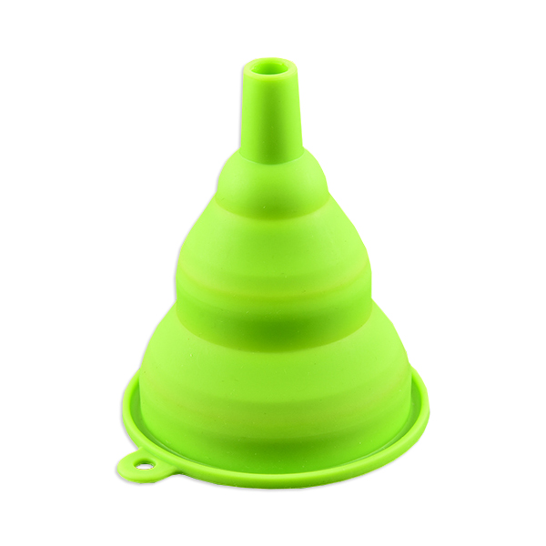 kitchen silicone collapsible funnel tool