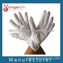 White Wholesale Men Parade Cotton Gloves