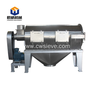 centrifugal airflow sieve screen sifter for rubber powder