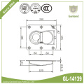 Double Sided Recessed Lashing Ring Steel Deck Ring