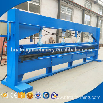 High efficient metal sheet horizontal bending machine
