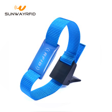 Personlized Products for China RFID Nylon Wristbands,Nylon Wristbands,Nylon RFID Bracelet Wristband Manufacturer and Supplier 13.56mhz Mifare Classic 1K Nylon RFID Wristbands export to Australia Factories
