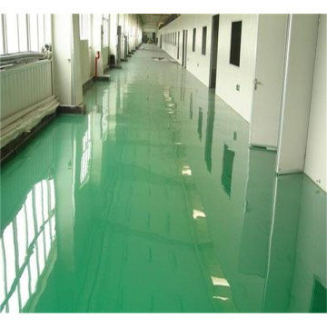 Acid resistant epoxy self-leveling