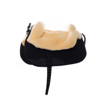 Lambskin saddle/English sheepskin saddle