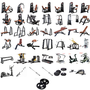 270㎡ complete gym equipment package
