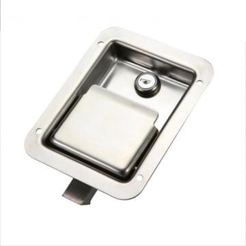 Silvery Mirror-Polished Industry Cabinet SS Panel Locks