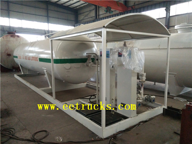 40000L Skid Mounted LPG Filling Plants