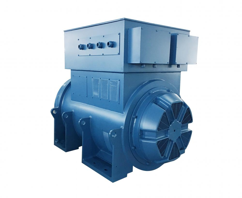 Blue Color Three-Phase Generator
