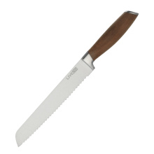 8 INCH BREAD KNIFE WITH WALNUT HANDLE