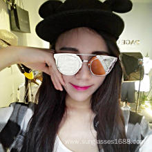 Romantic Fashion Retro UV Protection Sunglasses Women