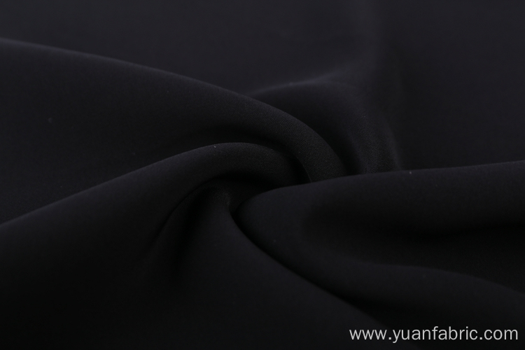 Plain Dyed 100% Polyester Stretch Woven Fabric