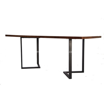 Modern Z Foot Dining Room Table