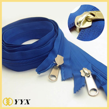 wholesale and custom two way nylon zipper