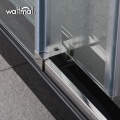 Hot Sale 10mm Tempered Glass Big Roller Shower Glass Door For Dealer
