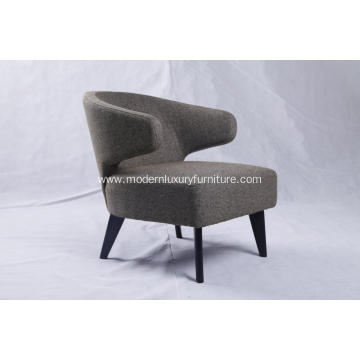 Modern Hotel Furniture Minotti Aston Armchair Replica