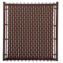 Quality galvanised PVC coated diamond mesh fence