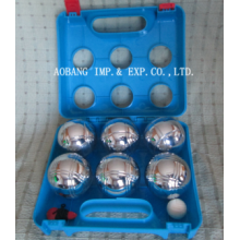 6 Balls Boule Set in Plastic Box