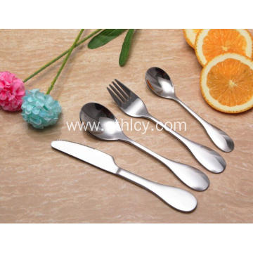 Children's Mirror Polish Stainless Steel Flatware Set