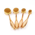 10pcs toothbrush makeup brush set