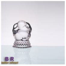Crystal Glass Ganesh Statue For Decoration