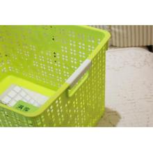Rectangular Plastic Storage Basket