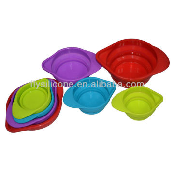 Flexible Convenient Customized Silicone measuring cup