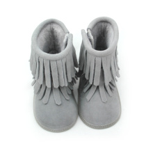 New Fashion Design for Baby Leather Boots Baby Dresses Snow Boots Boots Shoes export to France Factory