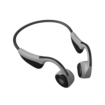 Foldable police bluetooth bone conduction earphone wireless