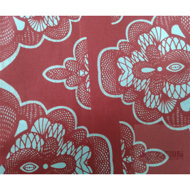 Classical Textile Wax Printed Fabric