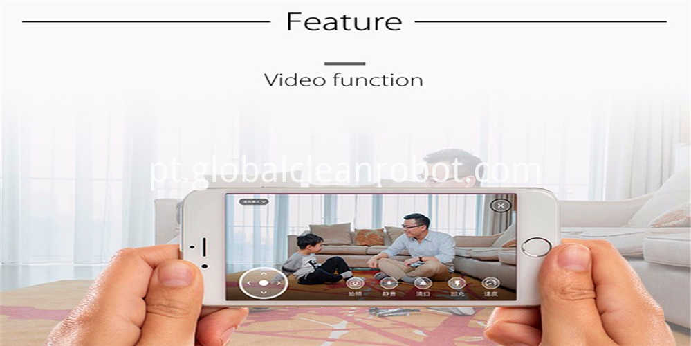 app video call camera robot