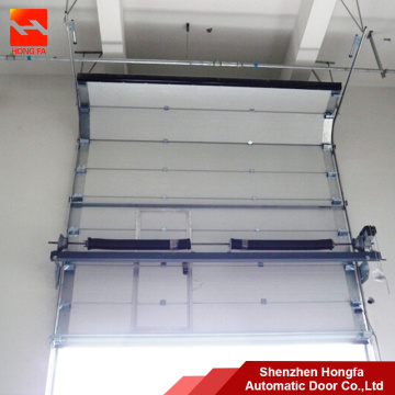 Galvanized Steel Industrial Sectional Overhead  Door