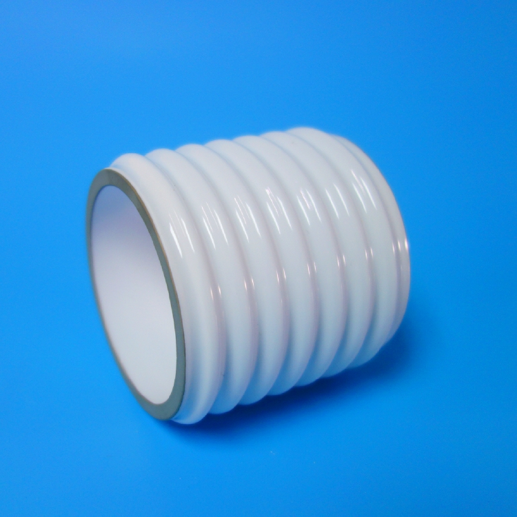 Metallization alumina cylinder for vacuum interrupter