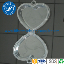 OEM Clear Plastic PET Small Packaging Clamshell Box