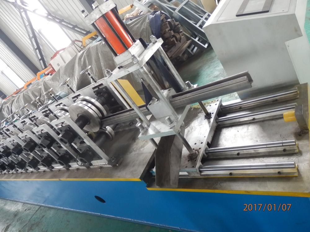 Steel Shutter Door Rail Roll Forming Machine