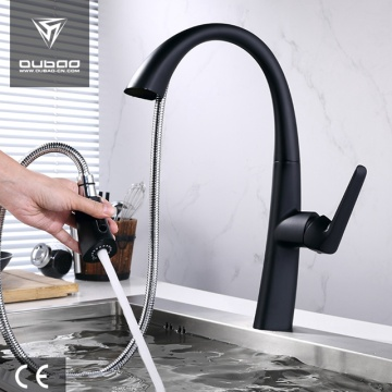 Single Hole Kitchen Mixer Tap With Spray