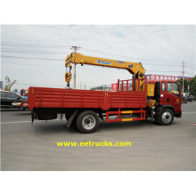 Special Design for Hydraulic Truck Crane 4x2 5 Ton XCMG Crane Trucks supply to Central African Republic Suppliers